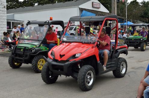 Graham Street Fair Parade 99
