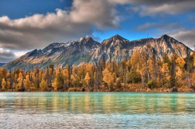 Alaska's Lake Clark National Park in the fall. Tweeted by the US Department of the Interior, 10/3/15.