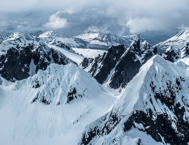 The rugged mountains of the Kodiak National Wildlife Refuge. Tweeted by the US Department of the Interior, 2/8/17.