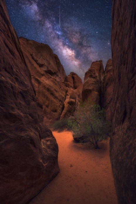 Arches National Park. Photo by Joshua Snow. Tweeted by the US Department of the Interior, 5/4/17.