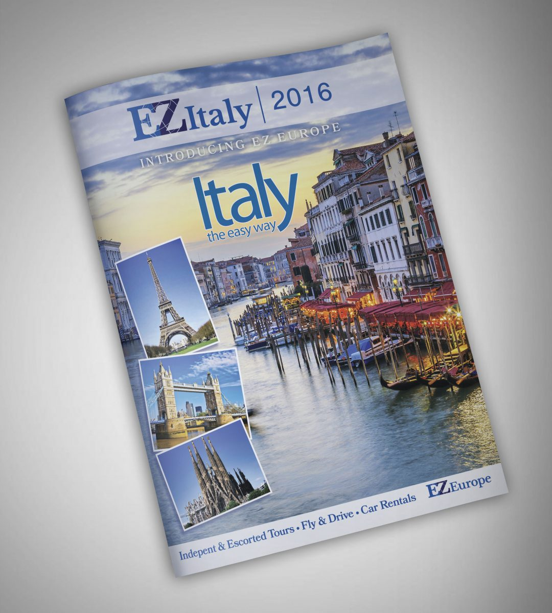 Cover Image Design for EZ Italy Catalog