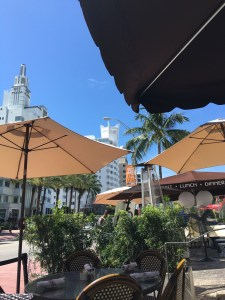Maxine's for Brunch and shopping on Collins Avenue