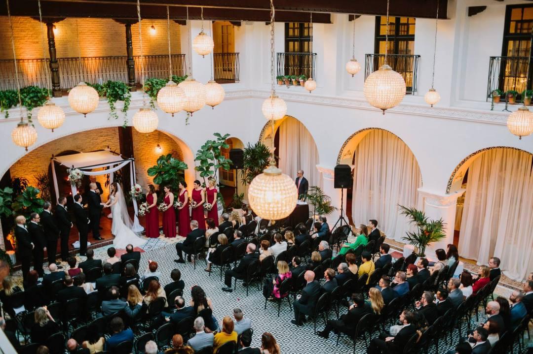 Wedding ceremony + The Ebell Long Beach