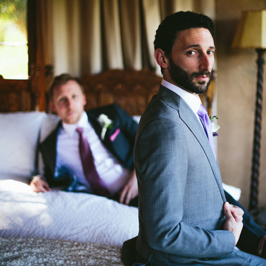 Two grooms on their wedding day, The Mountain Mermaid, CA, Moxie Bright Events Best Wedding Planner