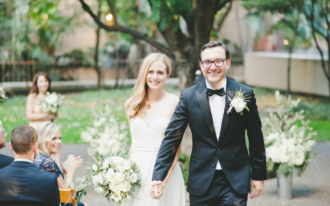 Elegant DTLA Cafe Pinot Wedding | Emily & Eric