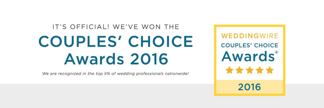 We Won the 2016 WeddingWire Couples Choice Award! - Moxie Bright Events