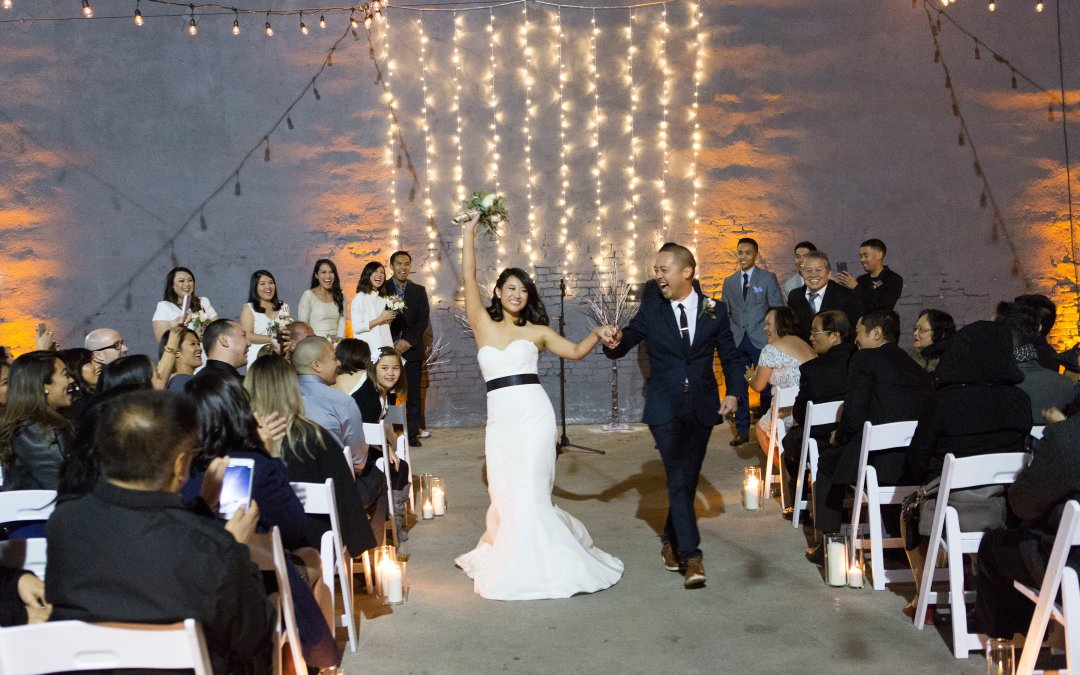 A Surprise Christmas-time Wedding at The Unique Space | Melissa & Omar
