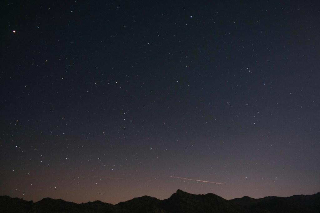 Sacred Sands Wedding, starry night sky