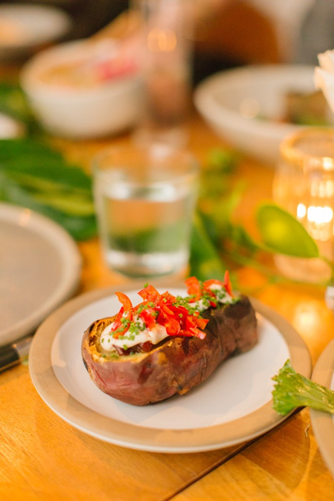 Miso Flat-Iron Steak, Hinoki and the bird wedding, Moxie Bright Events