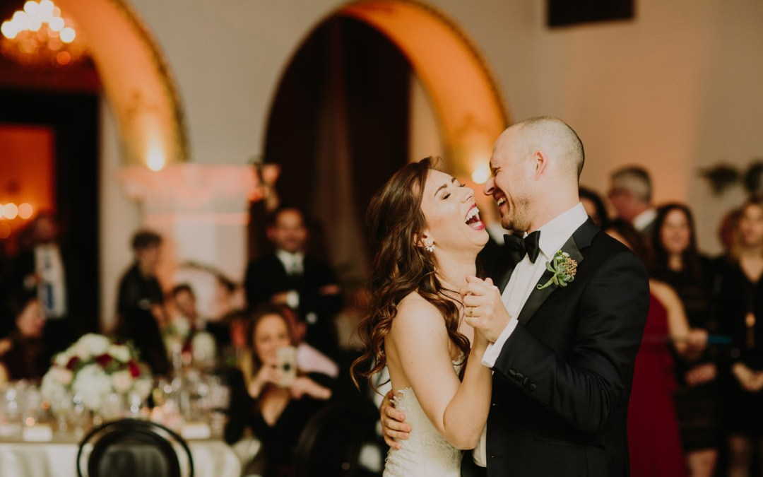 Musical & Modern Ebell Long Beach Wedding | Marissa & Jordan