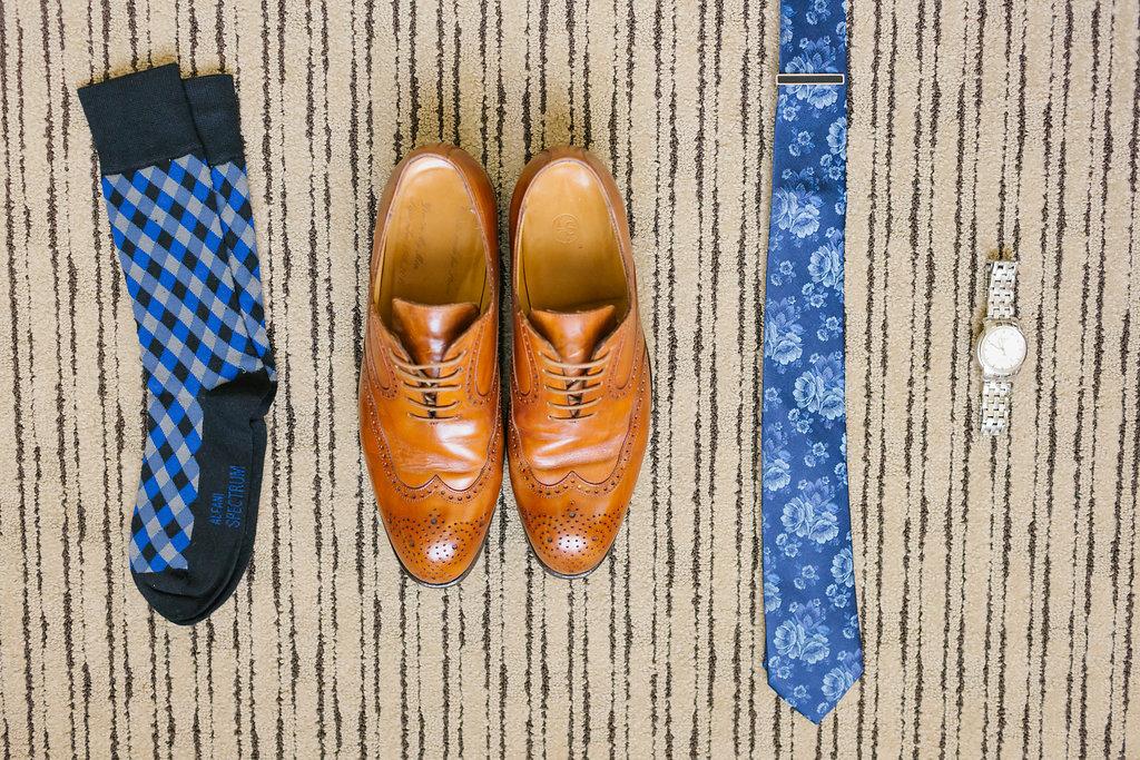 grooms accessories for Carondelet Wedding