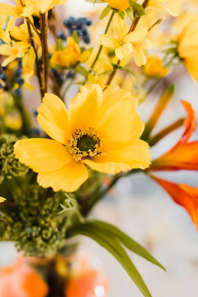 close up of yellow flower, Sibyl Sophia Floral Design