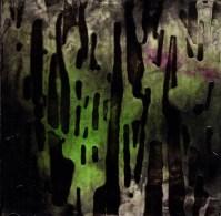 "ProtoNext #27 Acrylic on Paper, mounted on wood, 5""x5"""