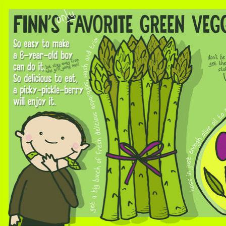 Finn's Only Favorite Green Vegetable by Lisa Graves