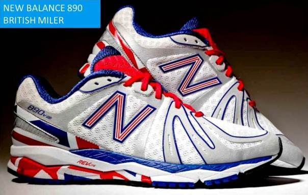 New Balance Zapatillas running 890 British Milers