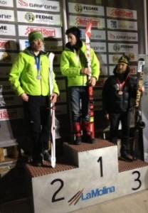 esqui montaña campeonato españa 2012 foto podio