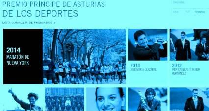 Maraton Nueva York 2014  Premio Príncipe de Asturias Deportes.