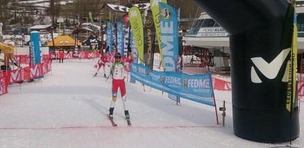 Esqui de montaña campeonato españa 2015 Oriol Cardona. Foto: Fedme.