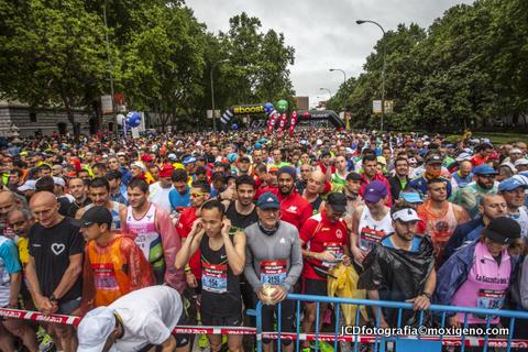 Maratón Madrid 2015: La carrera de los populares.