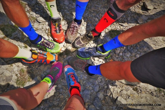 Calcetines running Lurbel: Prueba en grupo training camp Ultra Canfranc-Canfranc