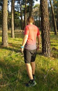 Adidas Primeknit Wool Dip-Dye y Ultra Medium vista trasera