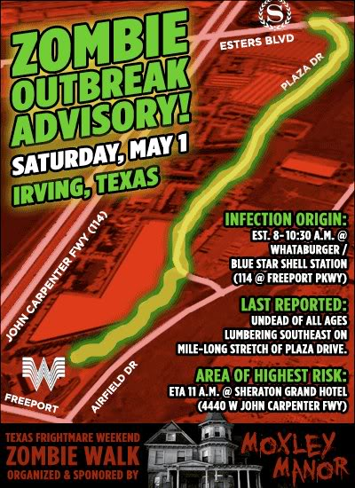 North Texas Zombie Walk