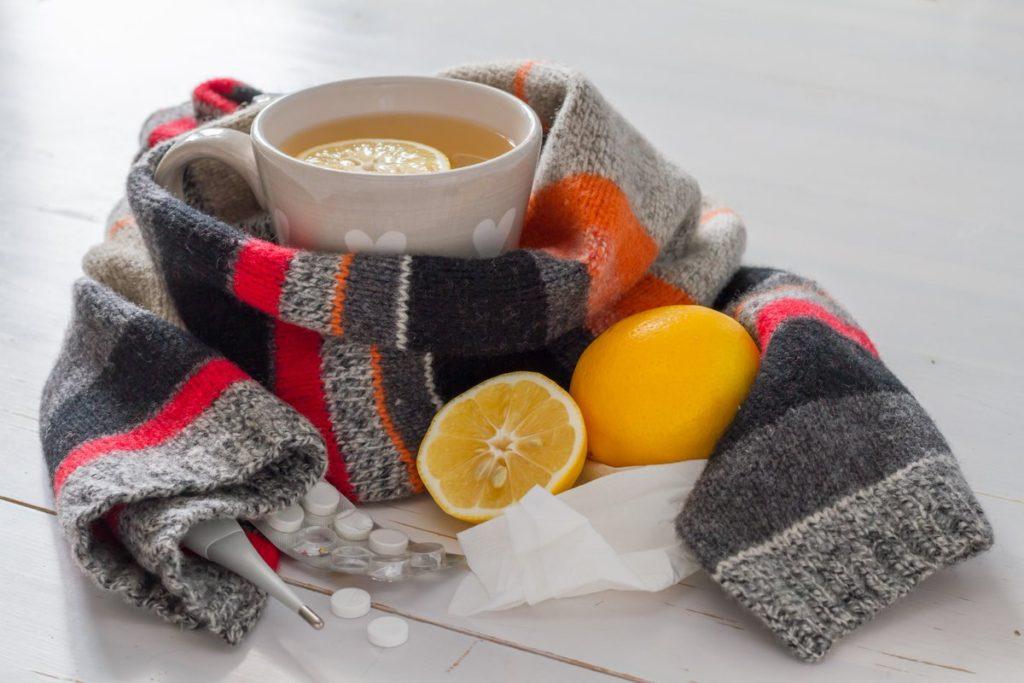 питьё во время простуды