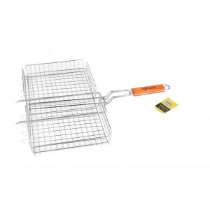 Купить Решетка-гриль глубокая 450х250 мм BBQ time bk