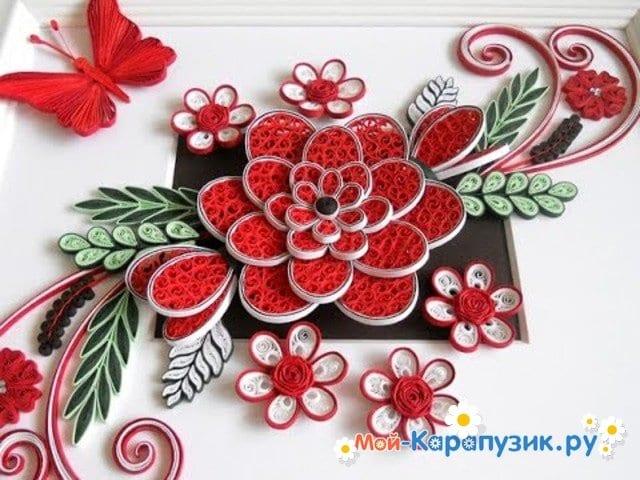 Квиллинг цветы 🥝 квилинговые поделки, схемы пошагово с фото   480x640