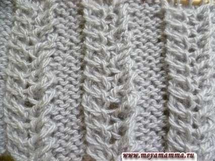 Modelli per sciarpe a maglia con maglieria a maglia a maglia spighette per sciarpa a maglia
