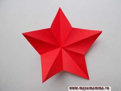 Svou hvězda z papírových fází. Nasazení hvězdy.