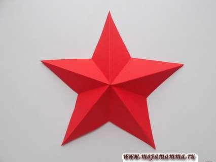 Steaua în vrac din etapele de hârtie