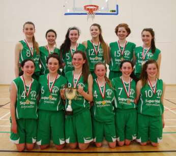Under 16 Girls County Champions