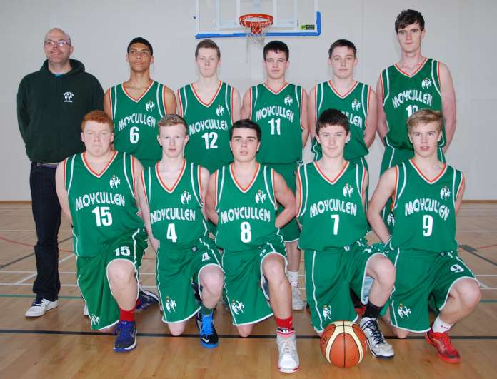 U17 Boys Squad that beat Maree in the Galway League Final