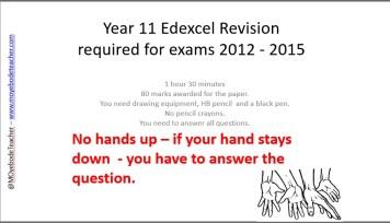 GCSE DT Exam Questions Quiz