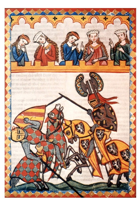 Les Valeurs D'un Chevalier Au Moyen Age : valeurs, chevalier, moyen, Ballade, Bachelier, D'armes,, Eustache, Deschamps, Moyen, Passion