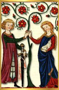 L'amour Courtois Au Moyen Age : l'amour, courtois, moyen, L'Amour, Courtois, Trois, Experts, Moyen, Passion