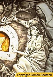 La Quete Du Graal Façon Astier : quete, graal, façon, astier, Graal, Mythe, Arthurien,, Roman, Booteen, Moyen, Passion