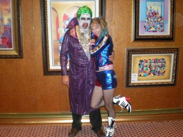 Halloween costumes on the Halloween Carnival Cruise