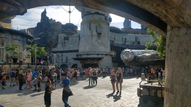 Black Spire Outpost at Star Wars Galaxy's Edge in Hollywood Studios Disneyworld