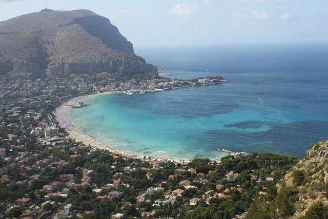 Palermo Coastline, Sicily