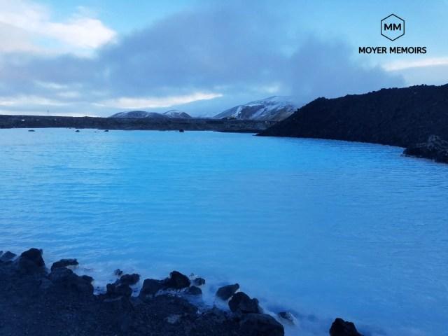 The natural Blue Lagoon