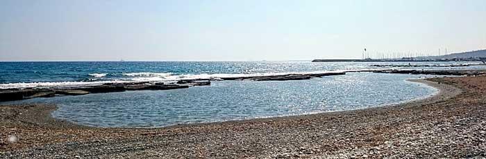 Пляж в Пиргосе Лимассол