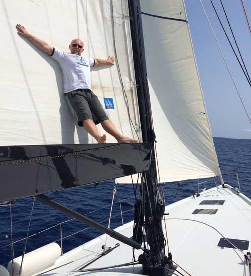 снять парусную яхту Кипр shipman