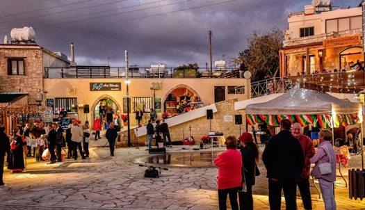 Деревня Тала Кипр