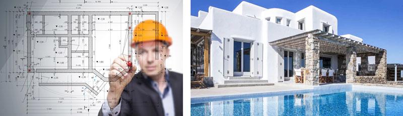 Строительство виллы на Кипре