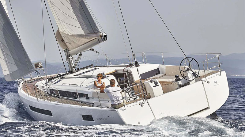 Аренда яхты Кипр sun odyssey 490
