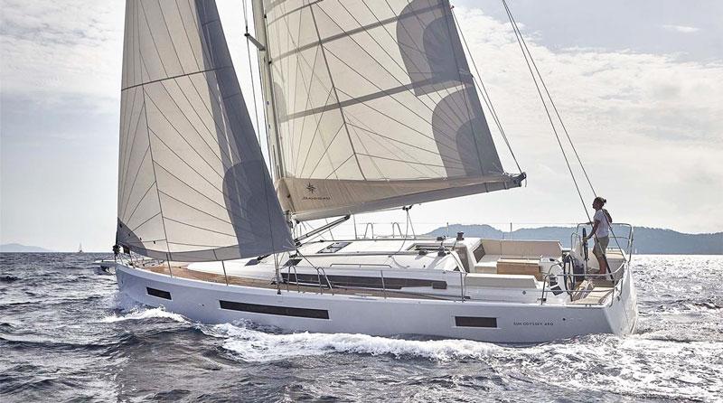 Аренда яхты на Кипре sun odyssey 490