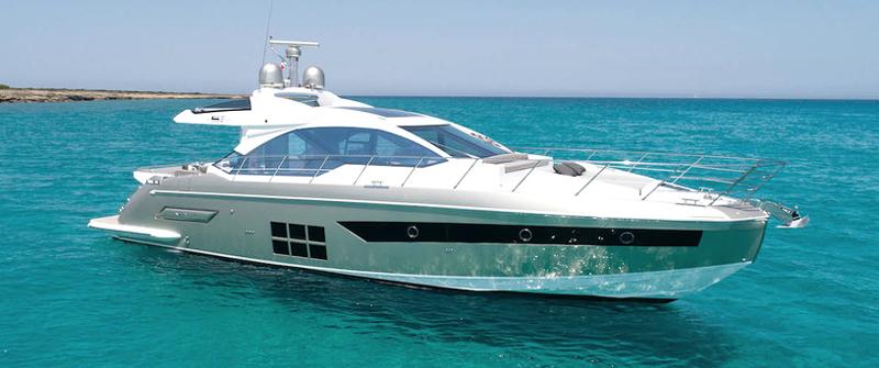 Аренда яхты azimut s6 на Кипре