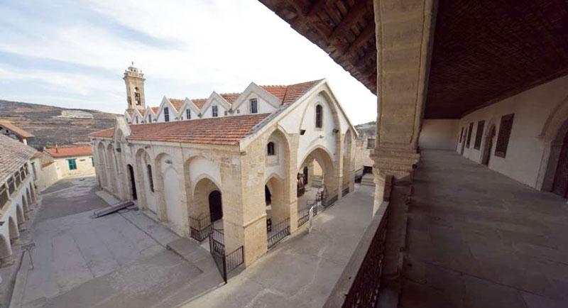 Монастырь честного Креста на Кипре